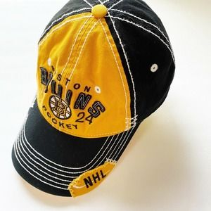 Boston Bruins Old Time Hockey NHL Youth Cap Hat